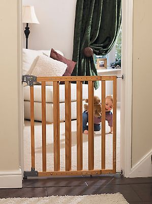 Safety 1st Simply Pressure XL Wooden Barrier