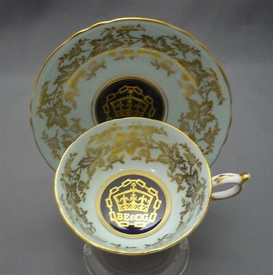 Paragon 1954 Vancouver British Empire & Commonwealth Games Tea Cup & Saucer Duo