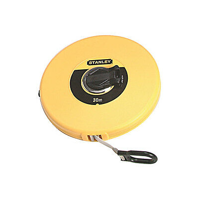 Stanley 0-34-297 30M Closed Fibreglass Tape Measure