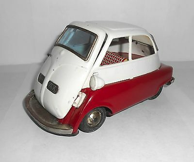 Bandai (Japan) Isetta Bubble car  vintage 1960`s tinplate collectable