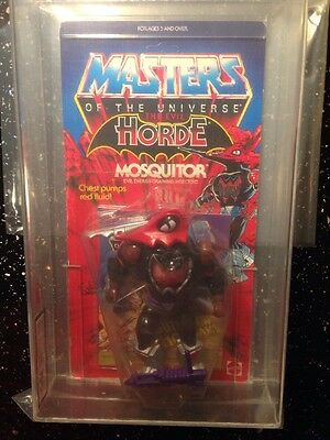 He-man Motu Mosquitor Masters Of The Universe  UKG75 Clear Bubble Wow