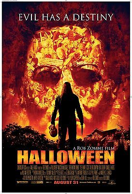 Home Wall Art Print - Vintage Movie Film Poster - HALLOWEEN 2007 - A4,A3,A2,A1