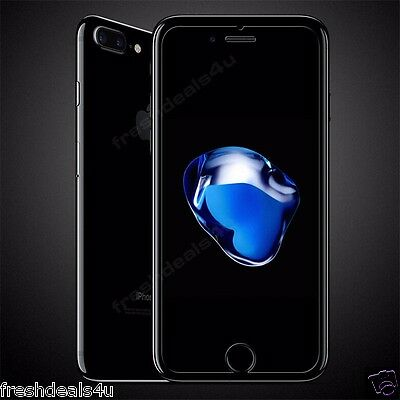 Clear Full Premium NEW Tempered Glass Screen Protector For Apple iPhone 7 Plus
