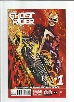 All New Ghost Rider #1 (Marvel 2014) NM - Roberto Reyes, Hell Charger, Near Mint