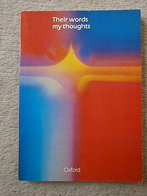 Their Words, My Thoughts Paperback Book The Cheap Fast Free Post