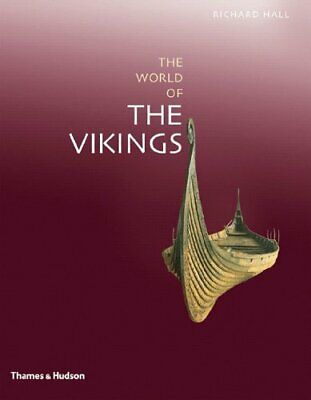 Exploring the World of the Vikings by Richard Hall Hardback Book The Cheap Fast
