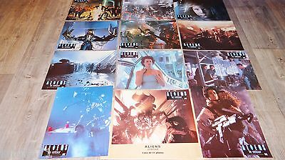 ALIENS le retour ! sigourney weaver rare jeu 12 photos cinema lobby cards