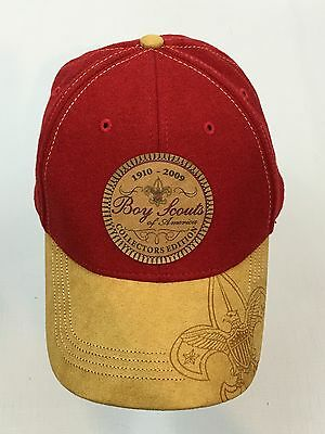 Boy Scouts of America 1910-2009 Anniversary Collectors Edition Red Baseball Hat