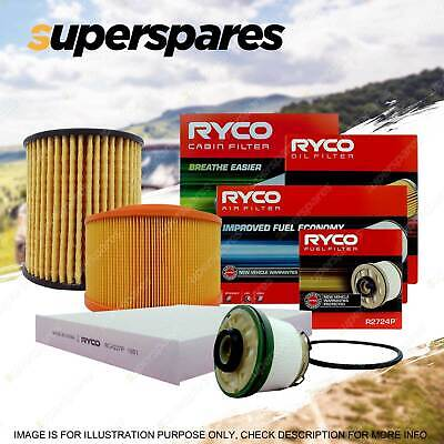 Ryco 4x4 Filter Service Kit RSK25C for Ford Ranger PX 2.2 3.2 TDdi 4x4 2011-On