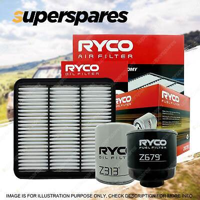 Ryco 4x4 Filter Service Kit RSK9 for Mitsubishi Triton 2.5D 2.5Di-D 05-ON
