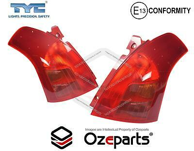 Set Pair LH+RH Tail Light Lamp For Suzuki Swift Hatch EZC21 RS415 S1 2005~2007