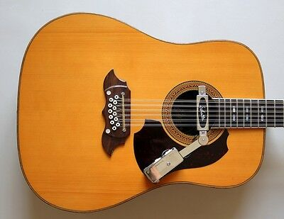 1970's Eko Eldorado 12 string with Soundhole Pickup
