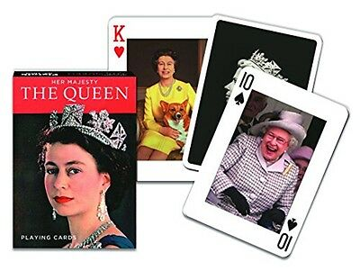 HM Queen Elizabeth II set of 52 playing cards (gib)