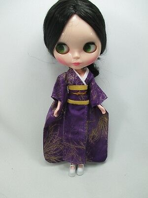 Outfit costume Handcrafted kimono dress for Blythe doll 830-5