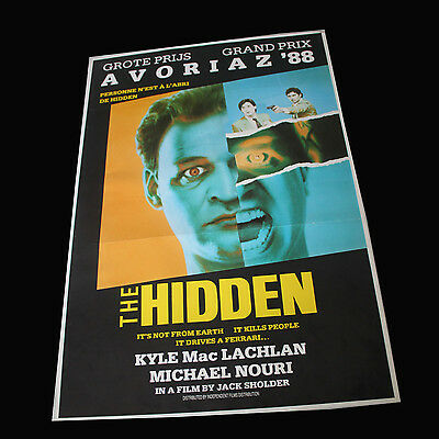 Affiche cinéma Hidden (The Hidden) Kyle MacLachlan
