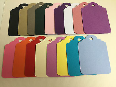 Gift Tags various colours pink blue purple to create own tags ideal for weddings