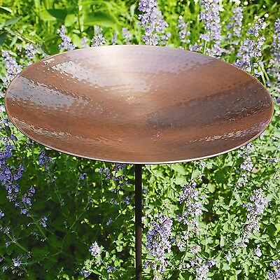 ACHLA Burnt Copper Bird Bath