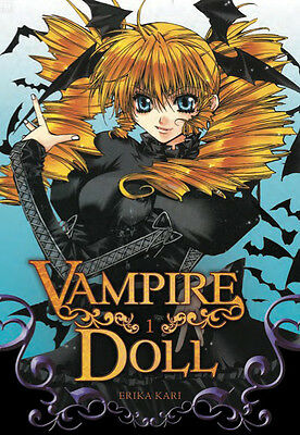 Collection complète de mangas Vampire Doll - 6 tomes - Editions Manga Soleil