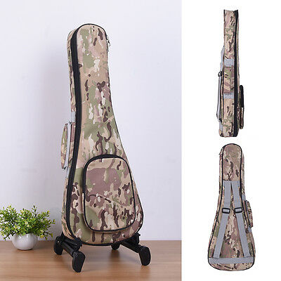 """21"""" -23""""Oxford Classical Padded Acoustic Bass Guitar Gig Bag Carry Case Backpack"""