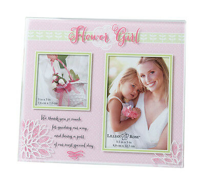 Wedding Flower Girl Thank You! Picture Frames