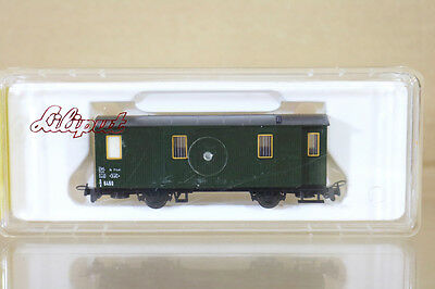LILIPUT 740 HOe GAUGE OBB ÖBB GREEN PACKWAGEN BAGAGE COACH 6460 MINT BOXED ni