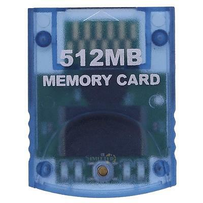 512MB Memory Card Stick for Nintendo Wii Gamecube NGC Console System Video Game