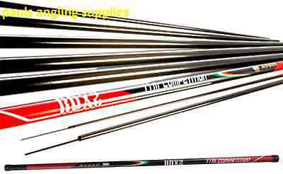 Avanti RDX 2  11M Carp Pole fishing Pole Carbon Competition ELASTIC FITTED