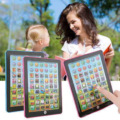 Tablet Pad Computer For Kid Children Learning English Educational Teach Toy PY