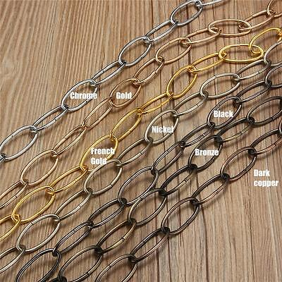 1M Heavy Duty Chain For Vintage Chandelier Hanging Lamp Pendant Lighting Fixture