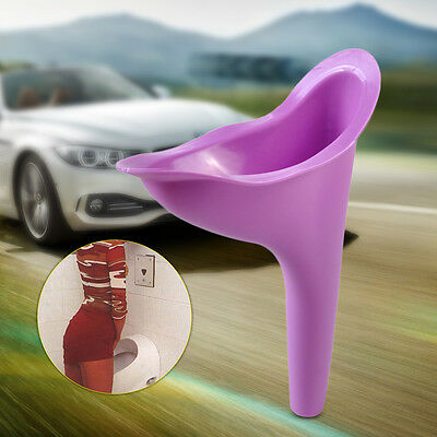 Portable Female Ladies Girls Women Urinal Urine Device Funnel Camping Travel