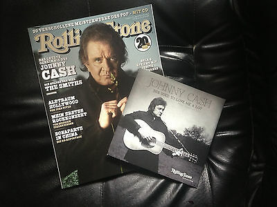 """Johnny Cash - She used to love me a lot exclusive Vinyl 7"""" Autograph Engraved"""