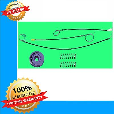 VW Golf MK3 window regulator repair kit 2-3 doors / front right
