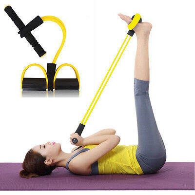 Pedal  Elastic Rope Fitness Workout Sit-Up Strength Abdominal Exercisers