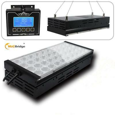Two Controlled Programmable Dimmable LED Aquarium Light Tank Reef Coral