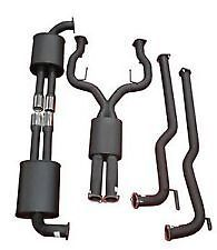 "Commodore Ve Vf   Sports  Exhaust System 2.5"" -  V6 & V8 Sedan /  Ute"