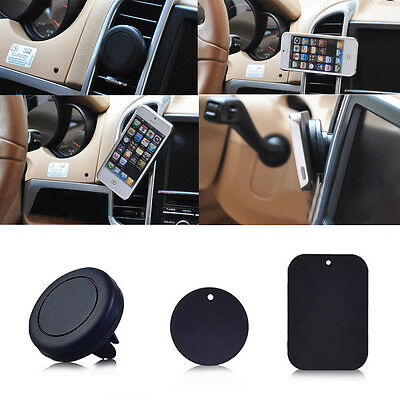 1PC Auto Car Universal Magnetic Air Vent Holder For Mobile Cell Phone GPS 1 Set