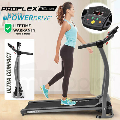 NEW PROFLEX TRX1 Electric Treadmill Exercise Machine Home Gym Fitness Equipment