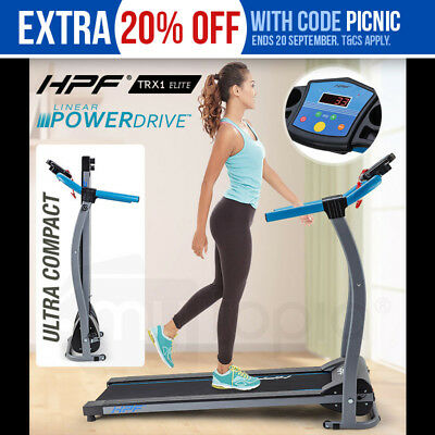 New HPF Electric Treadmill - Exercise Machine Home Gym Fitness Equipment -TRX1
