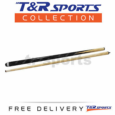"1x 2-Piece Normal Wooden Snooker Cue 57"" for Pool Billiard Free Postage"