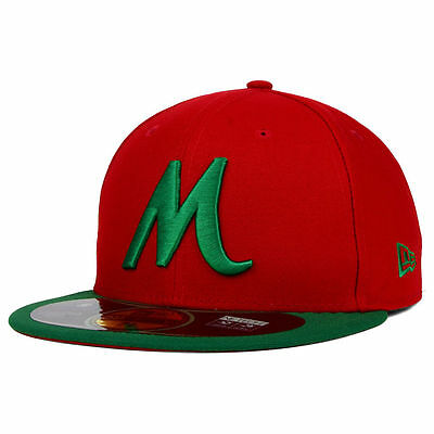 New Era 59Fifty Mexico Caribbean League Serie Del Caribe Cap/Hat Red/Green $50