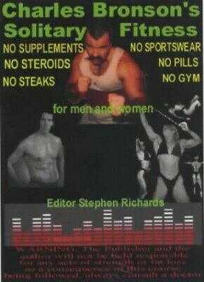 Solitary Fitness, Bronson, Charles Paperback Book The Cheap Fast Free Post