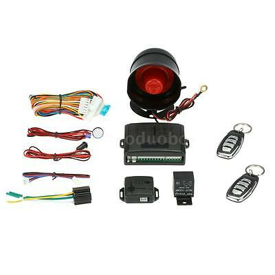 1 Way Car Security Anti-hijacking Protect Alarm System With Siren 2 Remote G3Y1