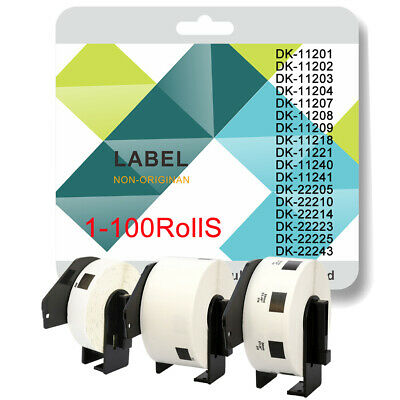 Compatible Brother Roll + Frame for Brother Address Label Printers