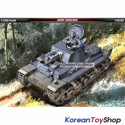 Academy 13280 1/35 Plastic Model Kit German Light Tank Pz.Kpfw. 35t Made Korea