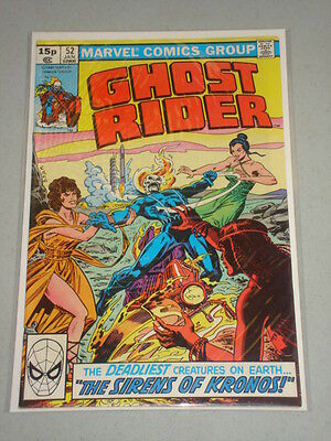 Ghost Rider #52 Vol 1 Marvel Comics January 1981