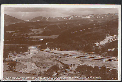 Scotland Postcard - The Snow Capped Cairngorm Mountains, Near Tomintoul  RT433