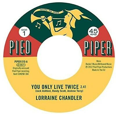 """Lorraine Chandler / - You Only Live Twice / Hold To My Baby [New 7"""" Vinyl]"""