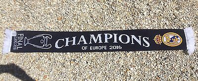 "Real Madrid Champions League ""Champs Of Europe"" Soccer Scarf"
