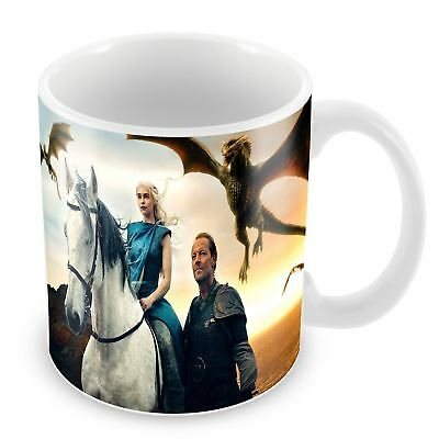 Mug game of thrones le trone de fer daenerys targaryen jorah mormont dragon