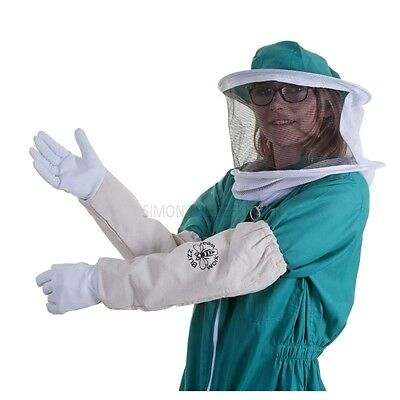 [UK] Buzz Basic Beekeeping Green Round Veil Bee Suit & Gloves- SELECT SIZE